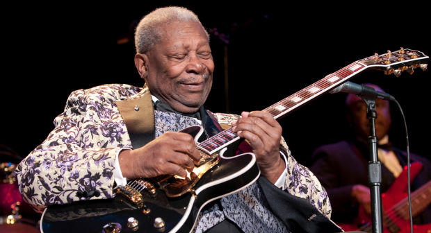 Influences for the new band number 7 - B.B. King